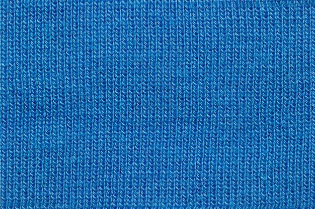 Textur der blauen jacke stoff