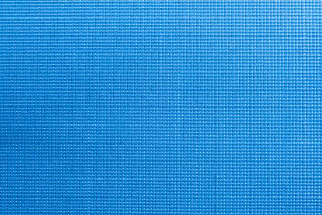 Textur der blauen yoga matten textur.