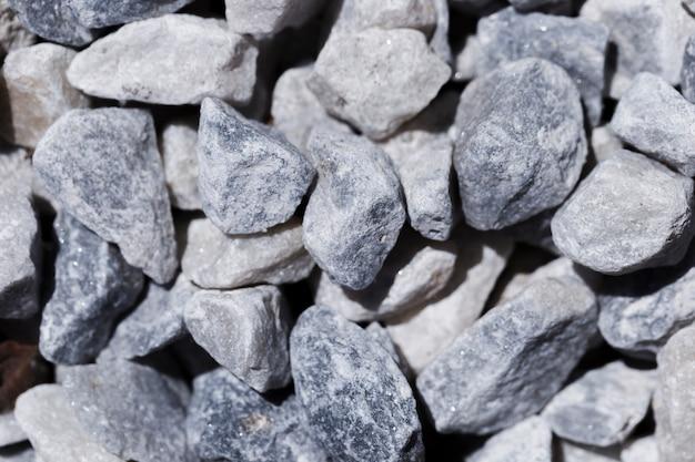 Textur der nahaufnahme steine