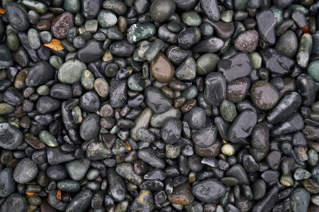 Textur der nassen steinen