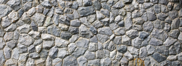 Textur der steinmauer. die felswand nahtlose textur