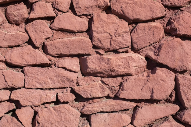 Textur der verschiedenen formsteine einer farbe