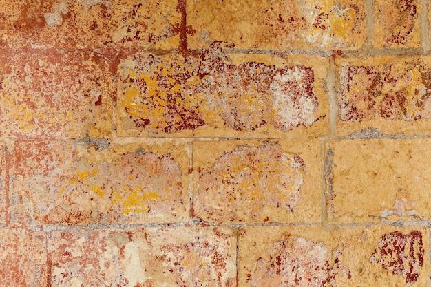 Textur des alten zerrissenen putzes. textur des alten putzes