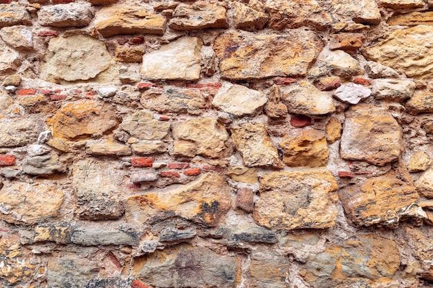 Textur des antiken mauerwerkshintergrundes