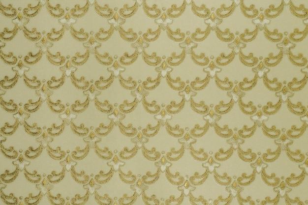 Textur des retro-wandteppich-hintergrundes mit zartem gittermuster