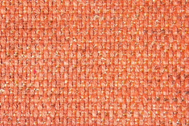 Textur des segeltuchgewebes handgemacht mit einer zweifarbigen verflechtung der garne im stilvollen modernen rustikalen design