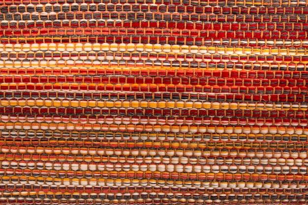 Textur des teppichs