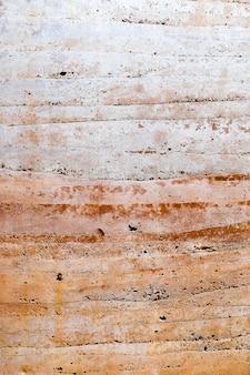 Textur einer alten braunen wand