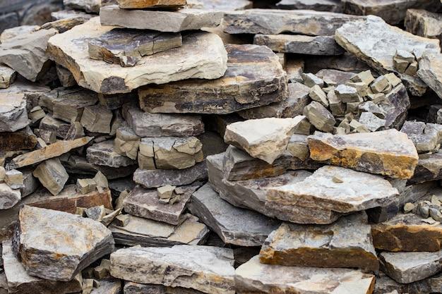 Textur einer steinmauer. teil einer steinmauer, für hintergrund oder textur.