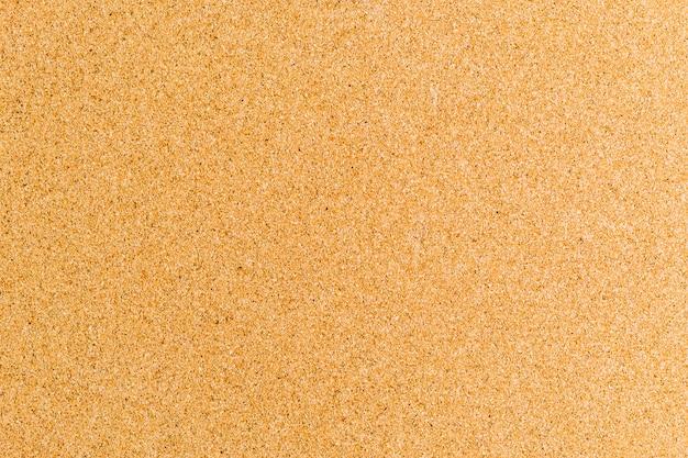 Textur eines korkbretts