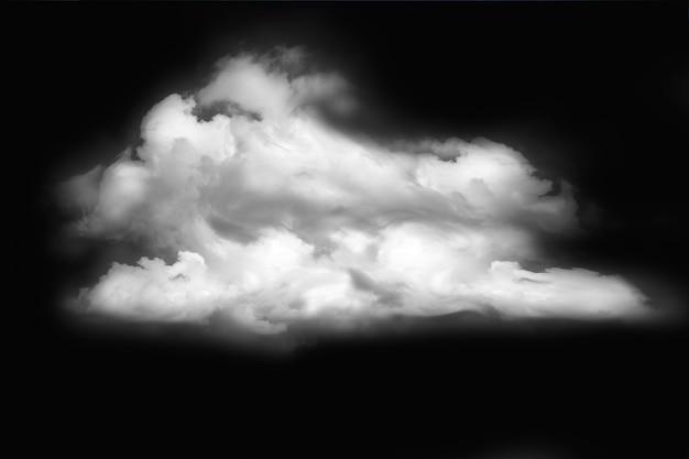 Textur, hintergrund, muster. wolken im himmel. weiße farbe auf schwarz