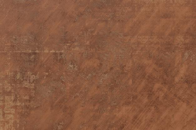 Textur kratzwand stuck farbe braune farbe. abstrakter schmutzbetonhintergrund, zementinnenraum. breiter pinsel mit rauer oberfläche. 3d-rendering