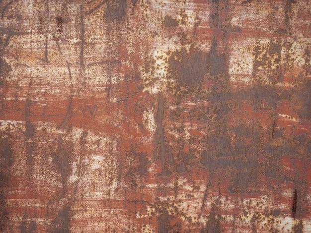 Textur mit altem rost auf metall.