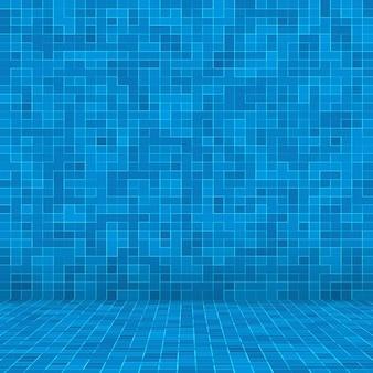 Textur-schwimmbadmosaikfliesenhintergrund.