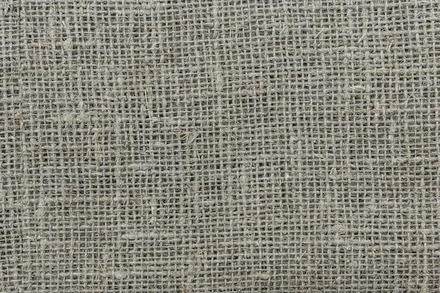 Textur stoff sackleinen