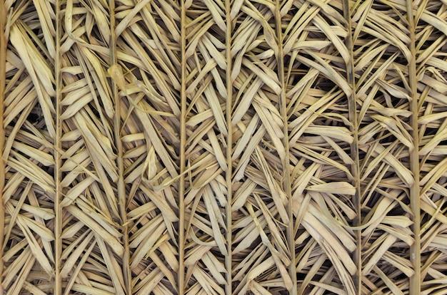 Textur von natürlichem stroh