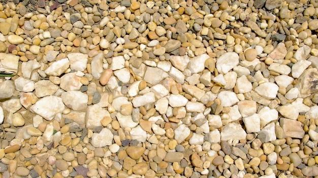 Textur von schönen glatten steinen.