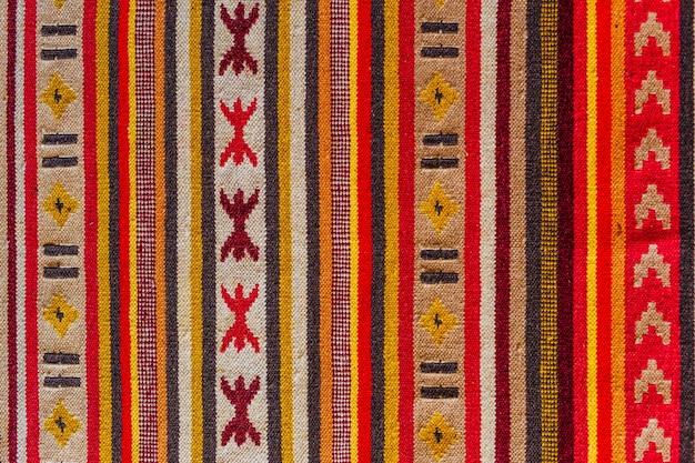 Textur von teppichornamenten
