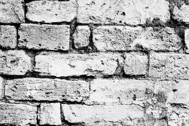 Textur, ziegel, wand, es kann als hintergrund verwendet werden. backsteinstruktur mit kratzern und rissen