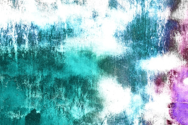Texturhintergrund einer metallwand mit rissen und kratzern