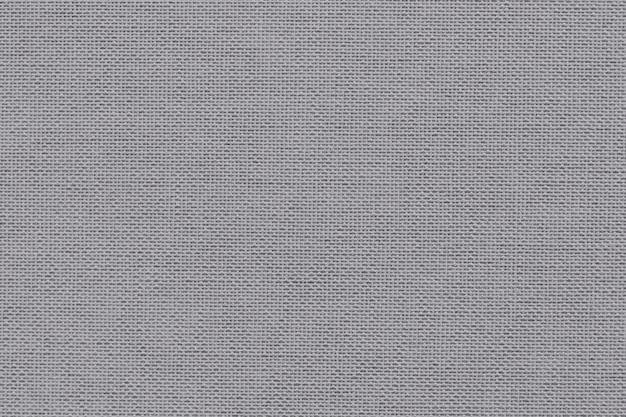 Texturierter hintergrund aus grauem stoff