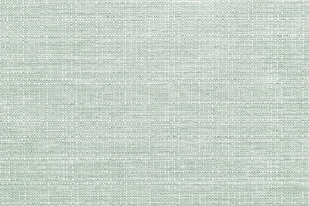 Texturierter hintergrund aus grünem leinengewebe