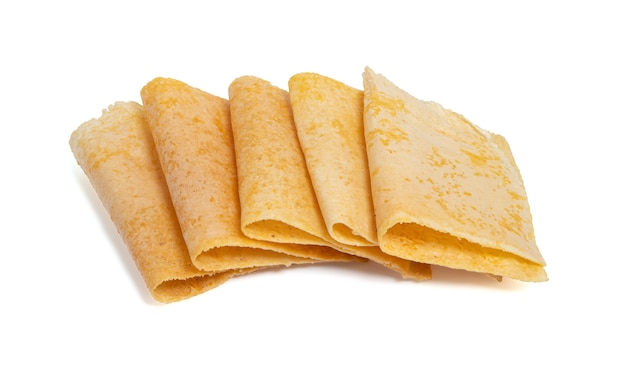 Thai crispy pancake, hergestellt aus mehlzucker und sesam namens tanga pub oder tanga muan.