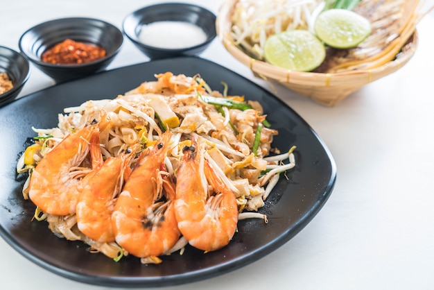 Thai gebratene nudeln