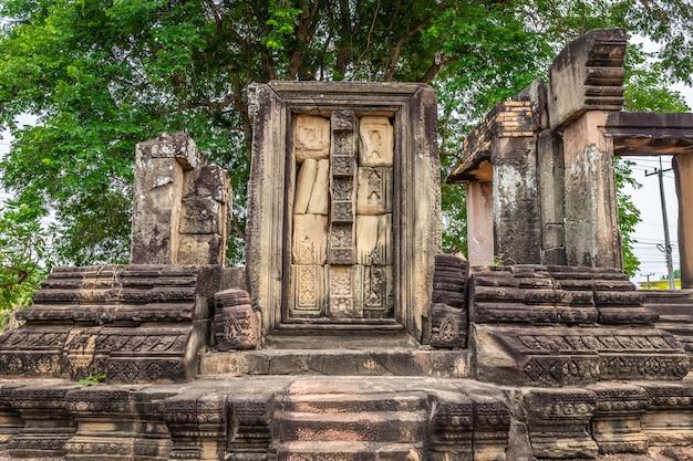 Thailändische archäologische stätte. befindet sich in der provinz nakhon ratchasima, thailand
