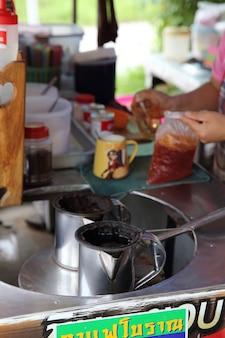 Thailändischer kaffee