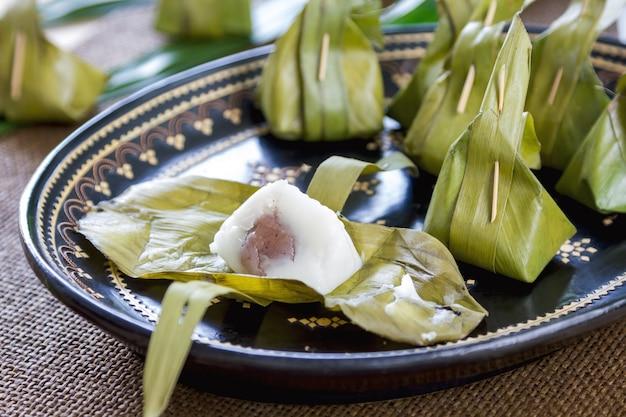 Thailändischer traditioneller nachtisch