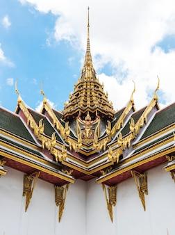 Thailändisches art-buddhistisches architektur-konzept