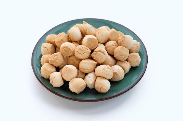 Thailändisches bonbon aus mehl, ei und zucker