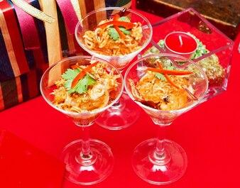 Thailand-Cocktail-Salattage von Weihnachten.