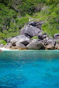Thailand schöne küste