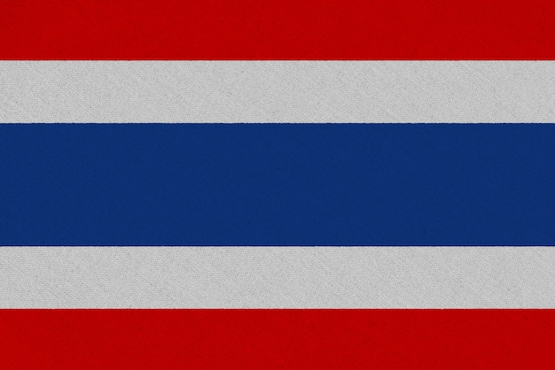 Thailand stoffflagge