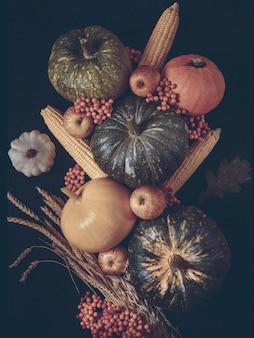Thanksgiving day konzept hintergrund