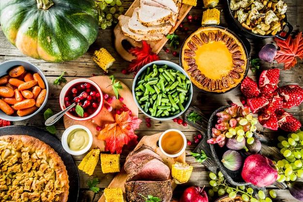 Thanksgiving-dinner-konzept