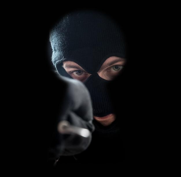 Thief, der ein schloss auswählt