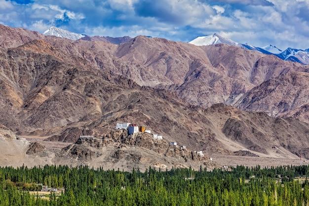 Thiksey kloster. ladakh, indien