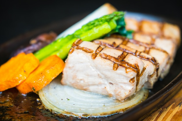 Thunfisch-fleischsteak