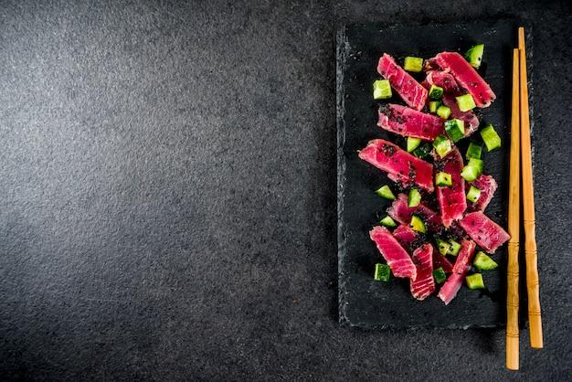 Thunfisch-sashimi-poke