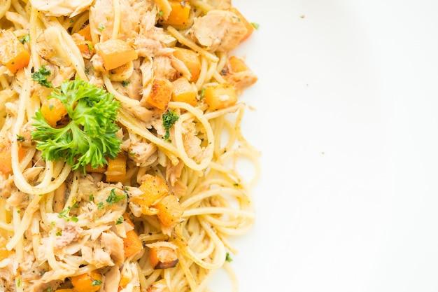 Thunfisch-spaghetti