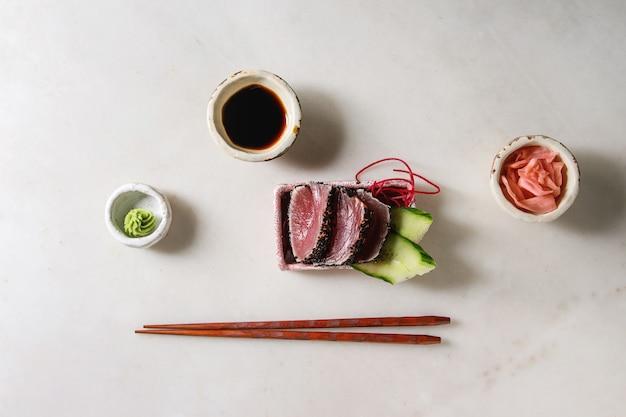 Thunfisch-sushi-sashimi