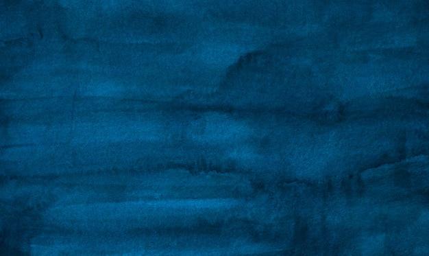 Tiefblaue flecken der hintergrundfarbe des aquarellweinlese. aquarelle abstrakte pinselstriche auf papier.