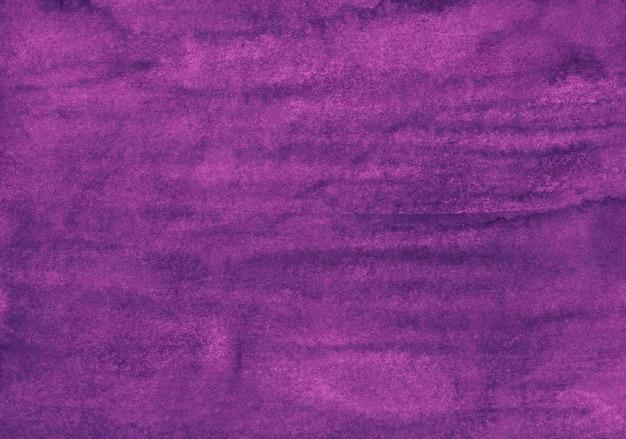 Tiefpurpurne farbhintergrundbeschaffenheit des aquarells