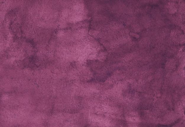 Tiefrosa hintergrund des aquarellweinlese