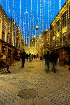 Tiflis neujahrsbeleuchtung
