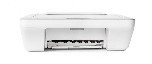 Tintenstrahldrucker lokalisiert auf weißem hintergrund