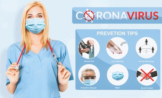 Tipps zur vorbeugung von covid-19-coronaviren helfen menschen, sich vor infektionen zu schützen